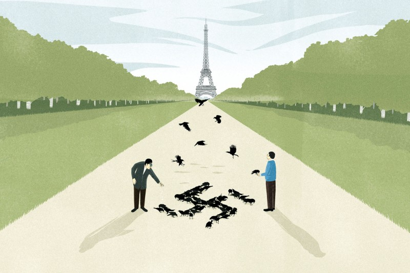Andrea Ucini illustration for Foreign Policy