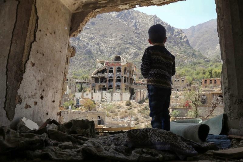 A Yemeni child