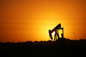 A pumpjack in the Permian Basin in Texas, which has made the U.S. the world's biggest oil producer, on Jan. 21, 2016. (Spencer Platt/Getty Images)