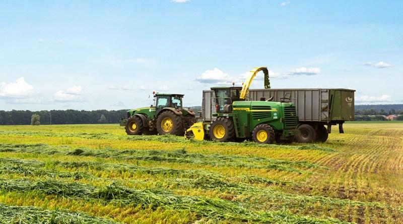 UkrLandFarming produces a wide range of products including grain, corn, eggs, sugar and livestock. Photo: UkrLandFarming