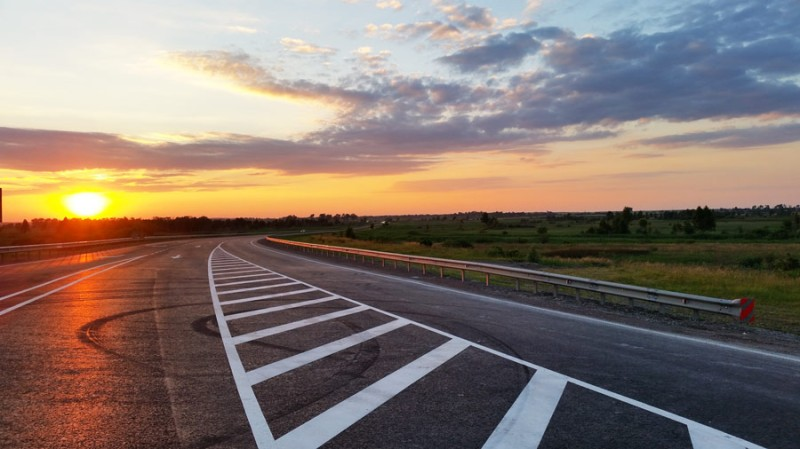 The Kiev-Chop highway, which has been upgraded to European standards, connects Ukraine with Western Europe. Photo: ONUR