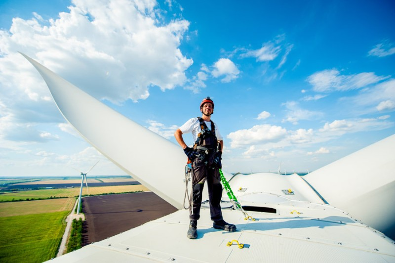 In January, DTEK and GE signed a contract to add 26 new wind turbines to Ukraine's power grid.