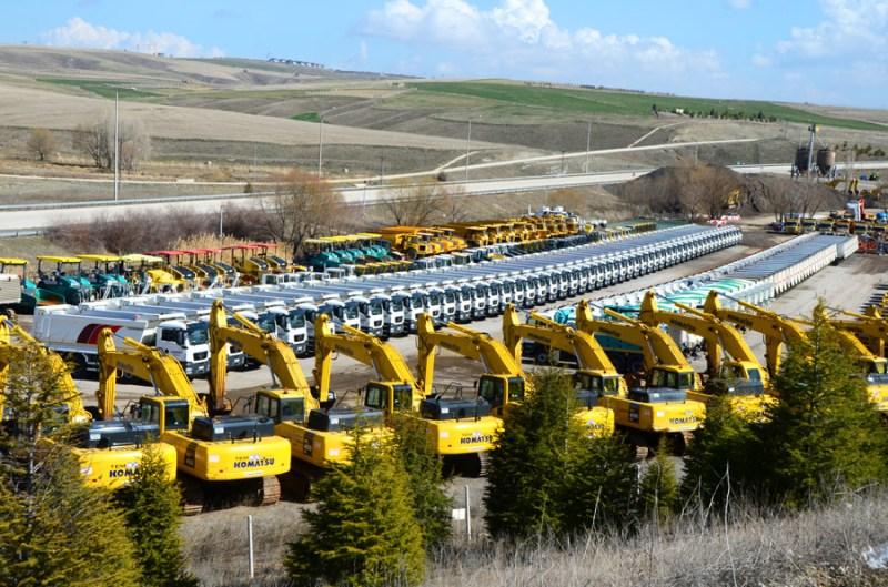 ONUR machinery park. Photo: ONUR