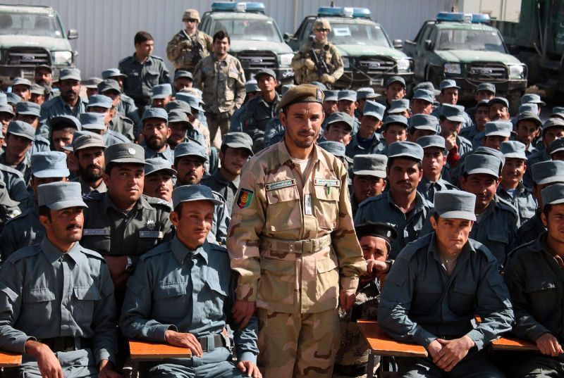 Kandahar Police Chief Abdul Raziq poses during a graduation ceremony at a police training center in Kandahar province, Afghanistan, on Feb. 19, 2017. (Jawed Tanveer/AFP/Getty Images)