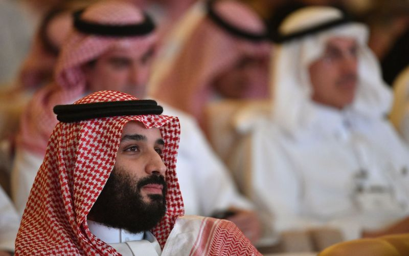 Saudi Crown Prince Mohammed bin Salman attends the Future Investment Initiative conference in Riyadh on October 23, 2018. (Fayez Nureldine/AFP/Getty Images)