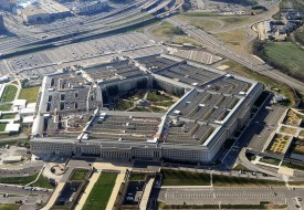 """Tech leader Trae Stephens says the Pentagon's """"spray and pray"""" investment strategy won't pay off. (Staff/AFP/Getty Images)"""