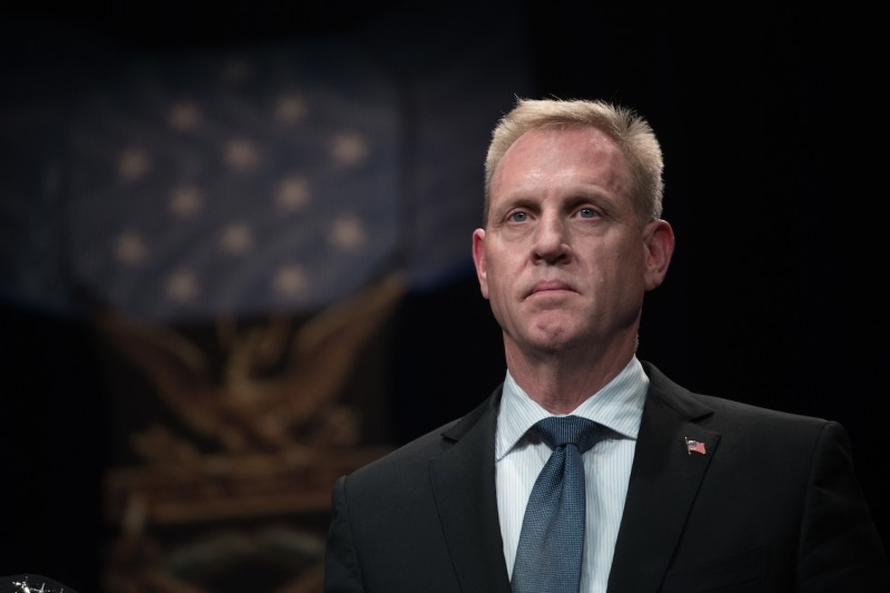 U.S. Deputy Secretary of Defense Patrick Shanahan participates in a ceremony at the Pentagon in Washington, D.C., on Oct. 18. (Department of Defense photo by U.S. Army Sgt. Amber I. Smith)