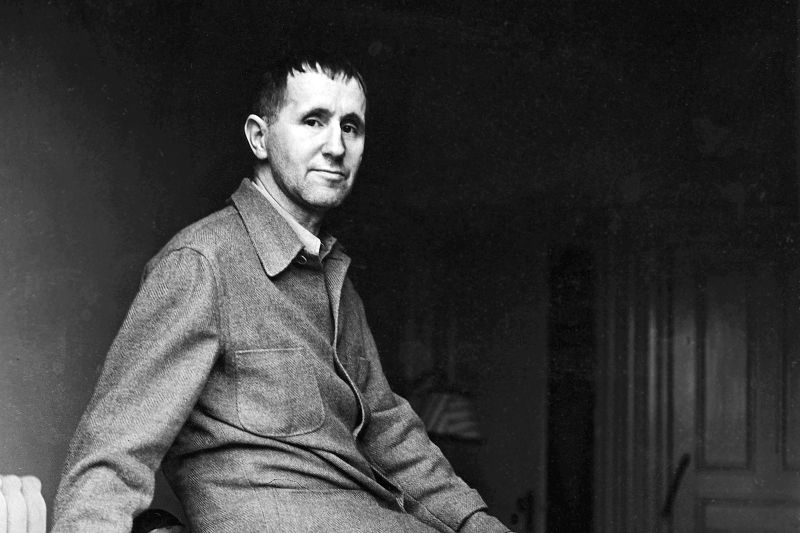 Bertolt Brecht in 1937. (Fred Stein/Picture-Alliance/dpa/Associated Press)
