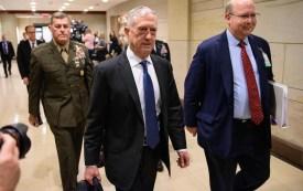 U.S. Defense Secretary James Mattis at the U.S. Capitol in Washington on Dec. 13. (Mandel Ngan/AFP/Getty Images)