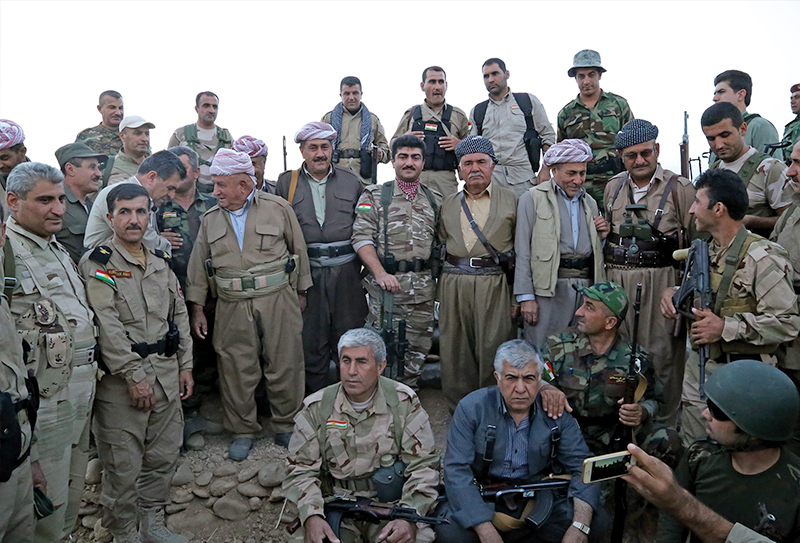 Peshmerga, the name of KRG's army, means 'those who face death'