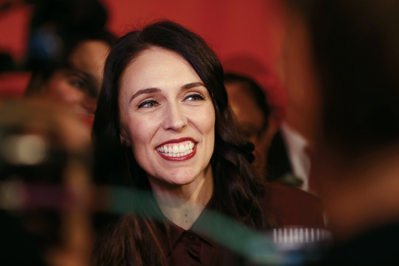 Jacinda Ardern on Aug. 23, 2017. (David White/Fairfax Media)