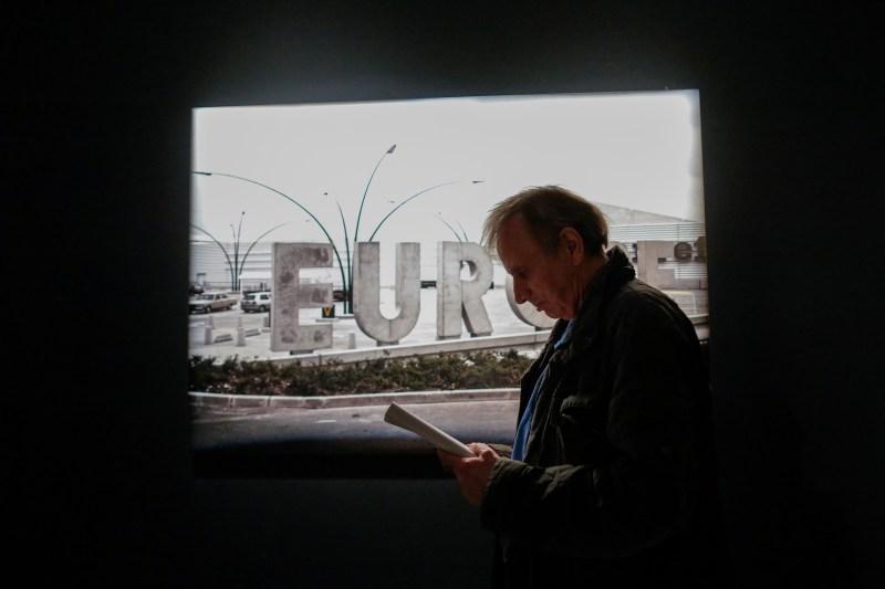 Michel Houellebecq attends an art show on June 2, 2017, in Manhattan, New York. (Eduardo Munoz Alverez/AFP/Getty Images)