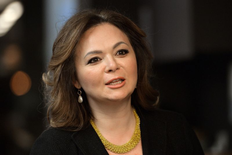 A picture taken on November 8, 2016 shows Russian lawyer Natalia Veselnitskaya speaking during an interview in Moscow. (Yury Martyanov/AFP/Getty Images)