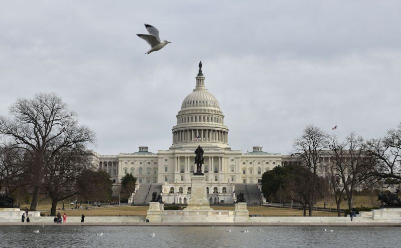 The U.S. Capitol is seen in Washington, D.C., on Jan. 22. (Mandel Ngan/AFP/Getty Images)