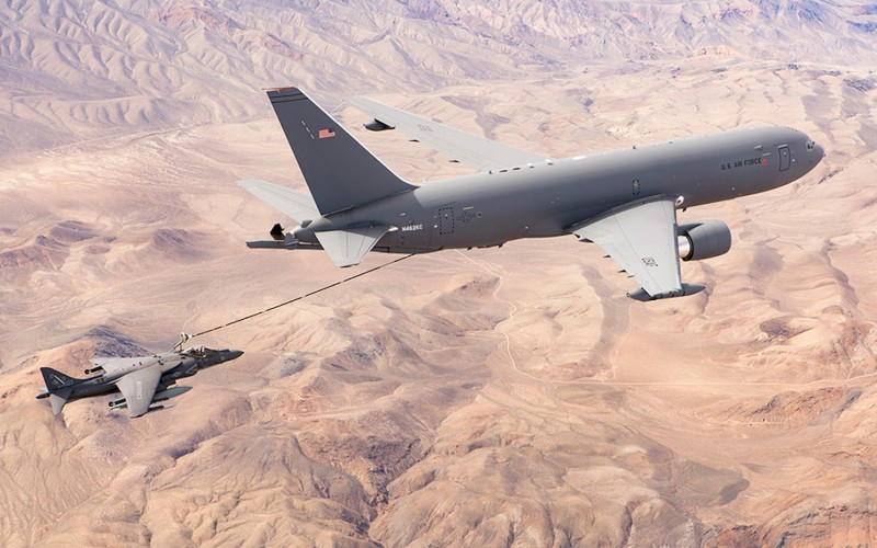 The U.S. Air Force awarded Boeing the tanker contract in 2011. (Boeing photo)