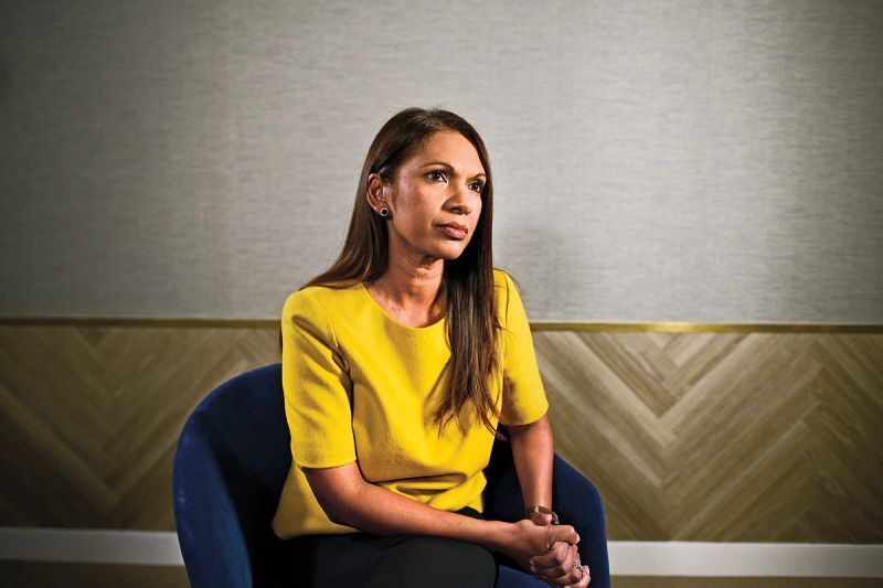 Gina Miller in London on Nov. 29, 2016. (Dylan Martinez/Reuters)