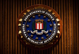 An FBI crest inside the J. Edgar Hoover FBI Building in Washington, D.C., on Aug. 3, 2007. (Mandel Ngan/AFP/Getty Images)