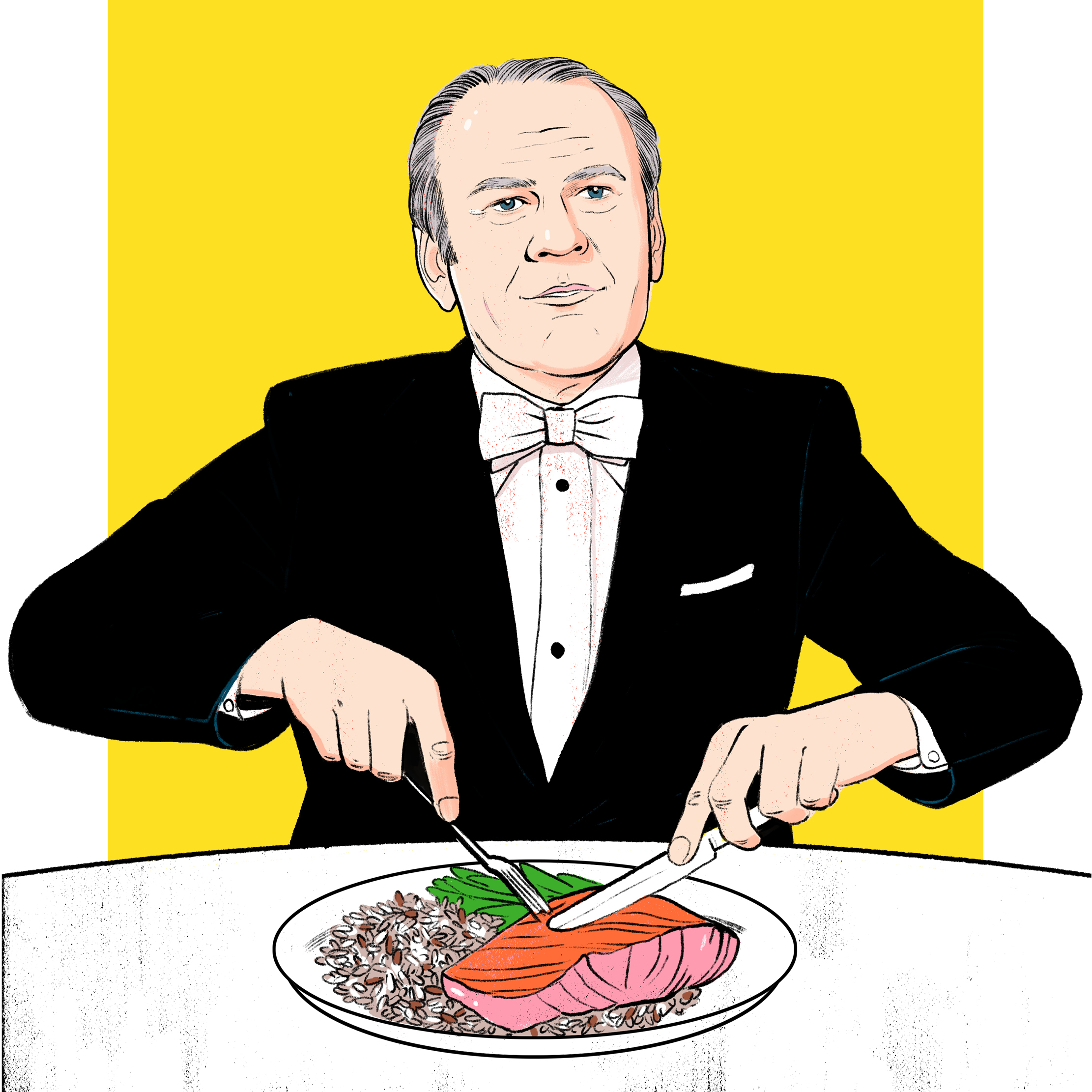 All the Presidents' Meals – Foreign Policy