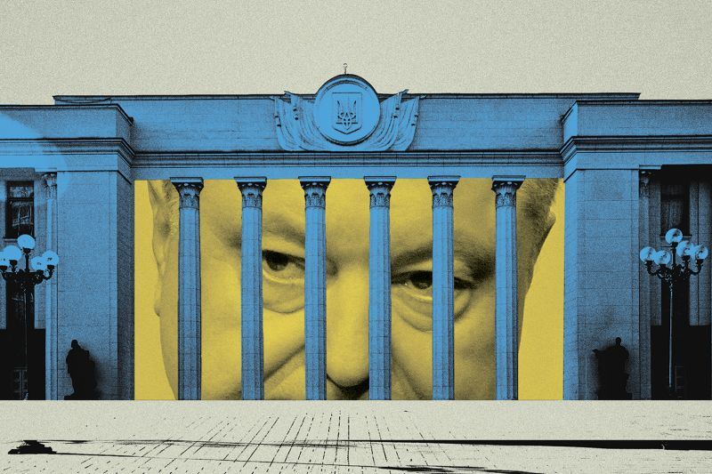 Joan Wong illustration for Foreign Policy/Photos by Andriy OnufriyenkoSTR/NurPhoto via Getty Images