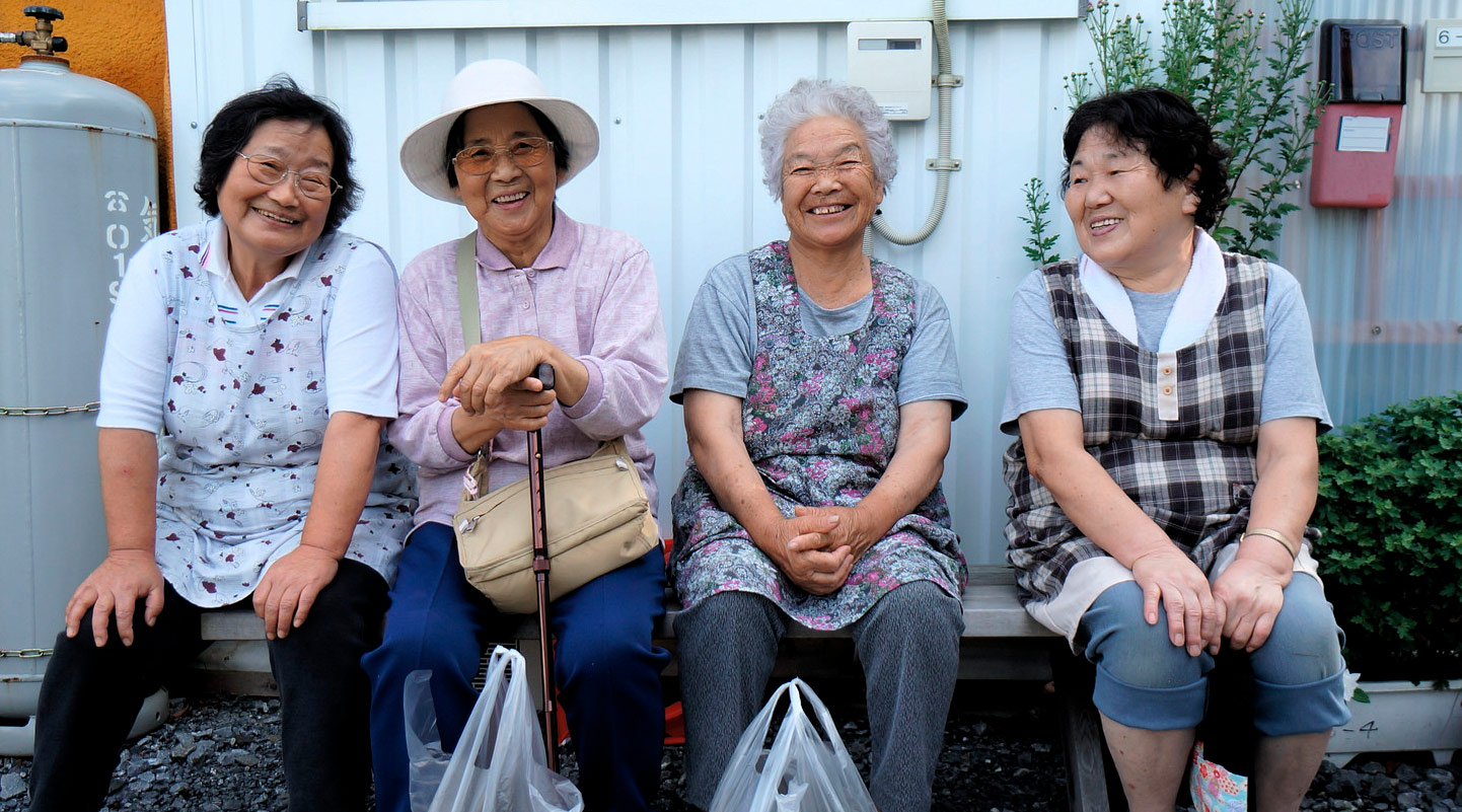 The median age in Japan is 47.3, according to a 2017 CIA estimate. CC-BY 2.0