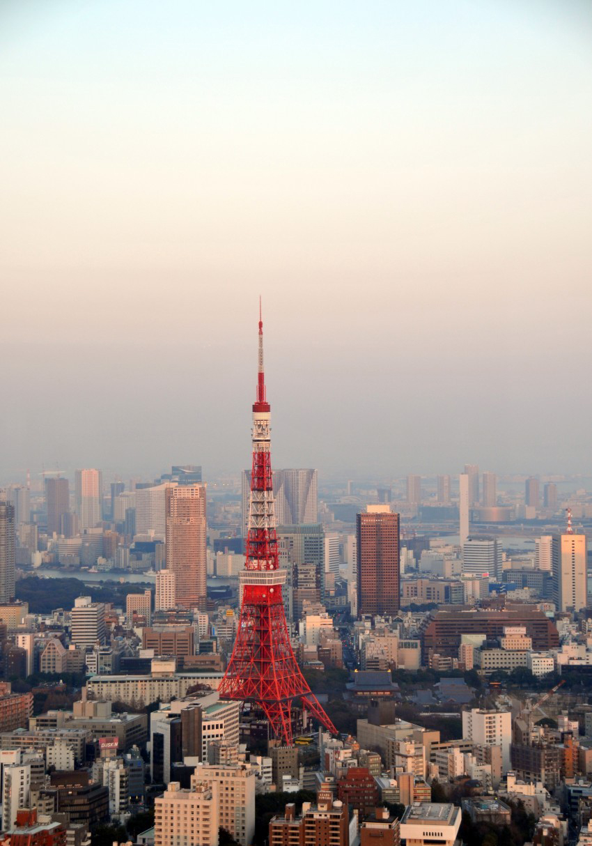 At 332.9 meters, the Tokyo Tower is Japan's second-tallest structure. (Y. Shimzu/JNTO)