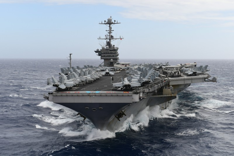 Nothing Projects Power Like an Aircraft Carrier. Does the Pentagon Think Otherwise?