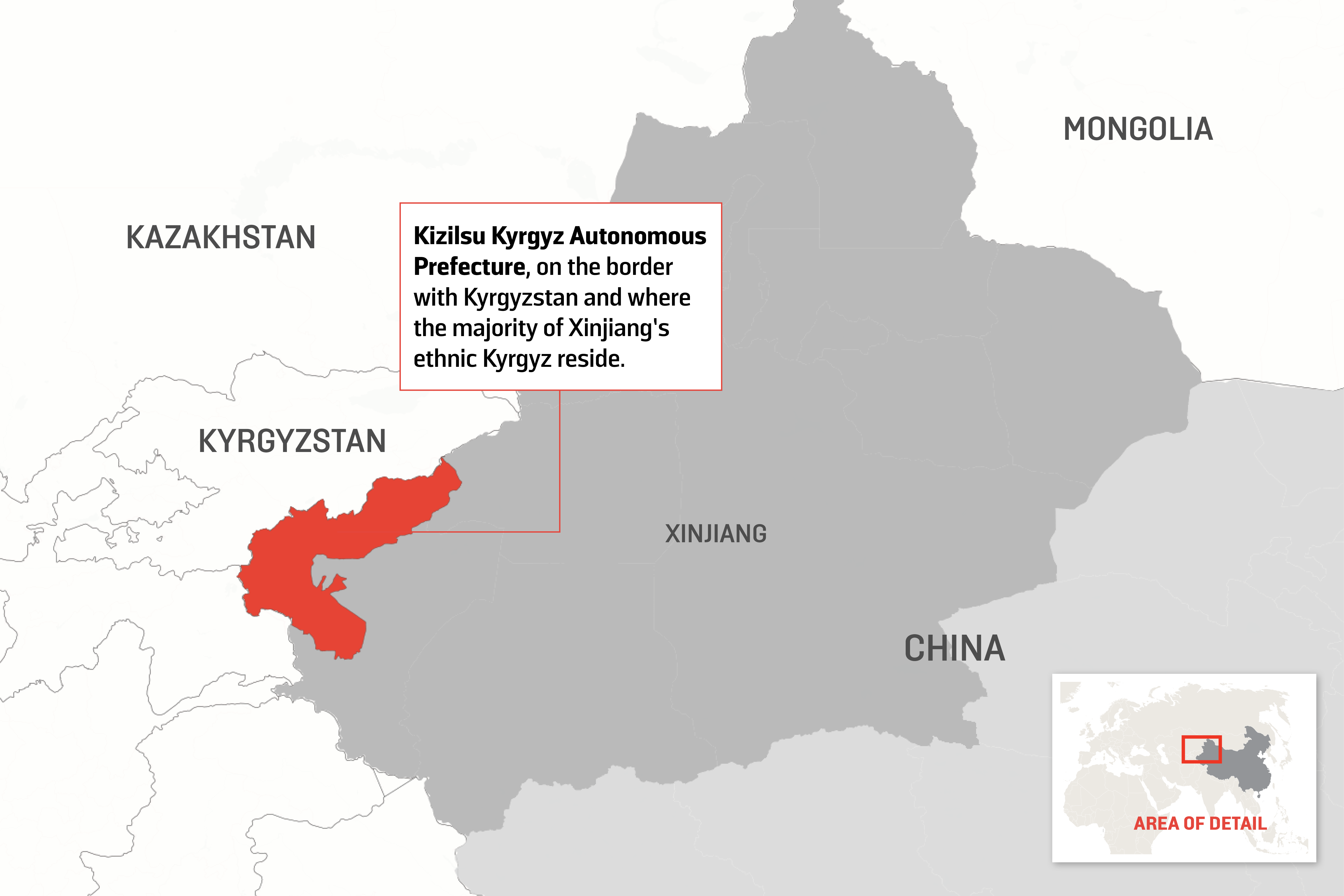Map Xinjiang.Kyrgyz Students Vanish Into Xinjiang S Maw Foreign Policy