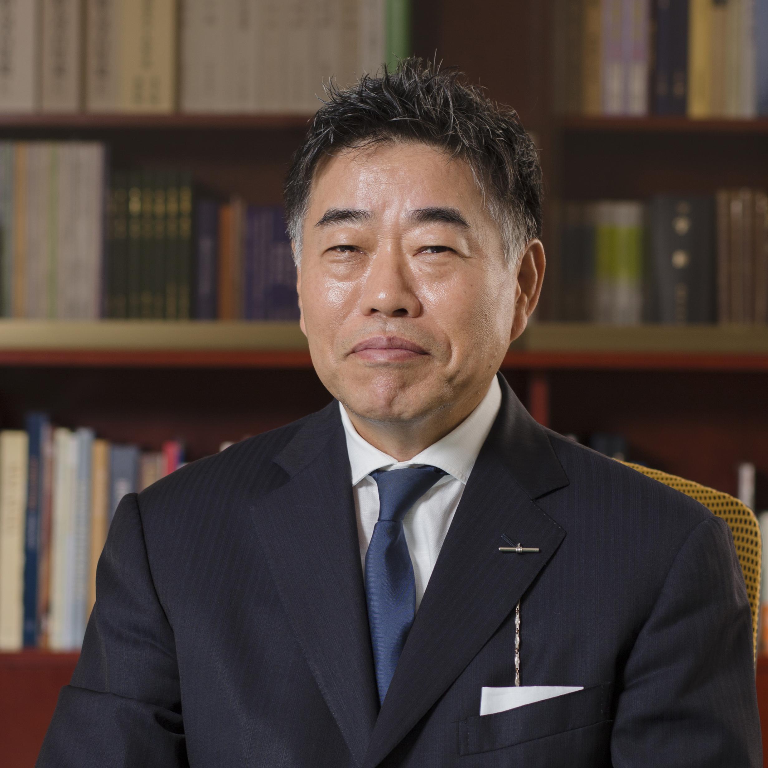 Keiichiro Tsuchiya, President, Meiji University