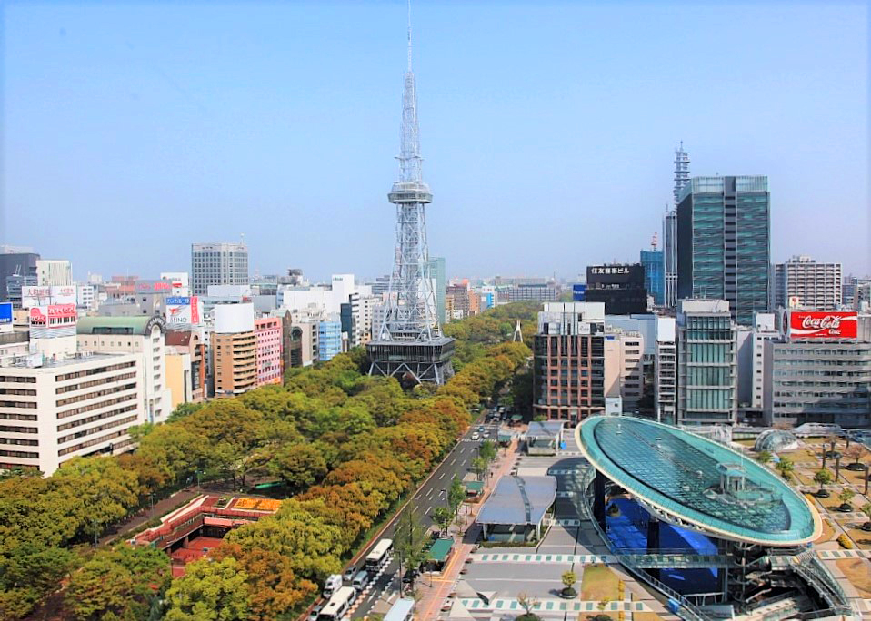 Sakae, Nagoya's lively downtown retail and entertainment district. GNIC