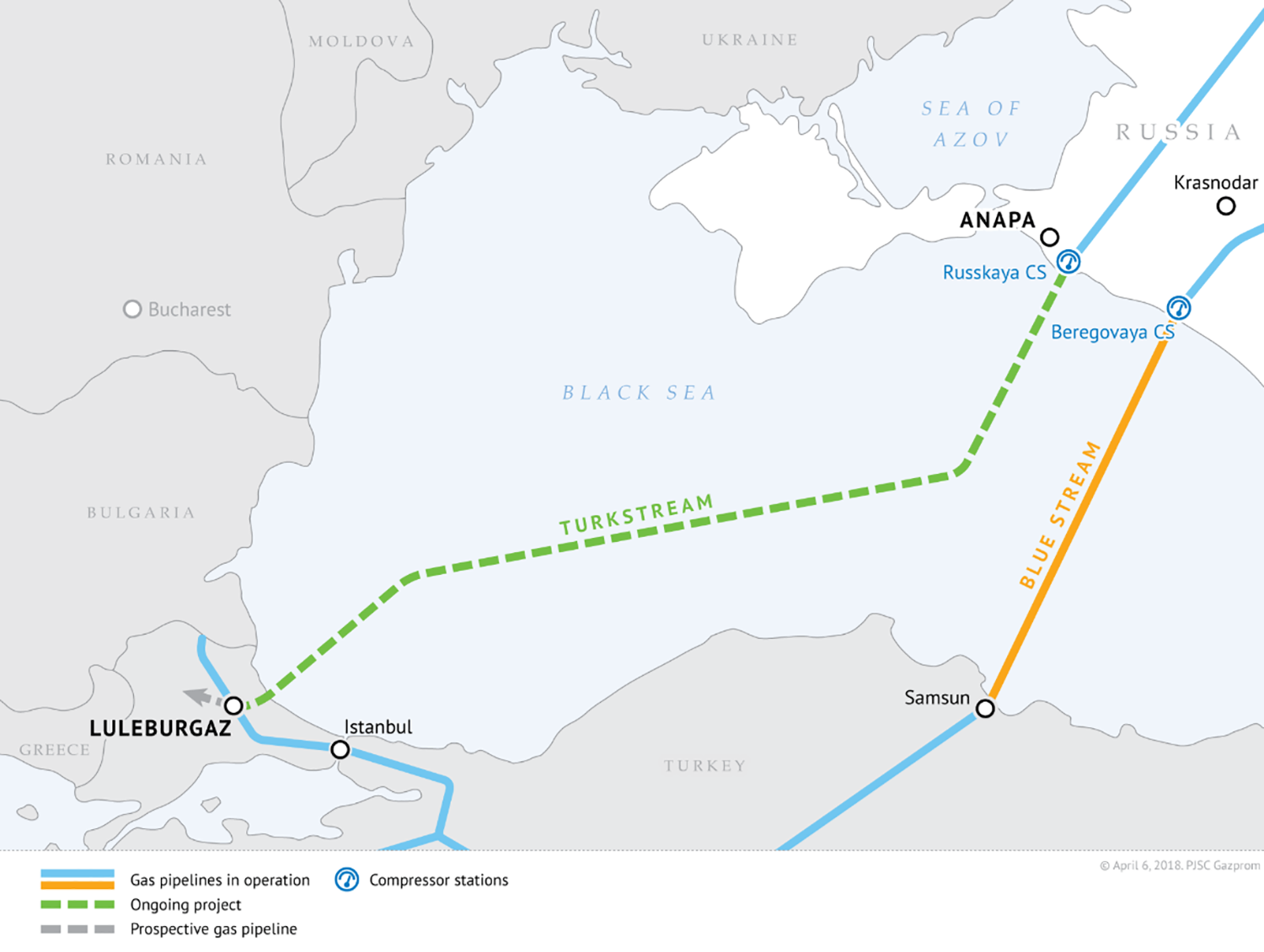 Russia's Gas Web Ensnares Europe – Foreign Policy