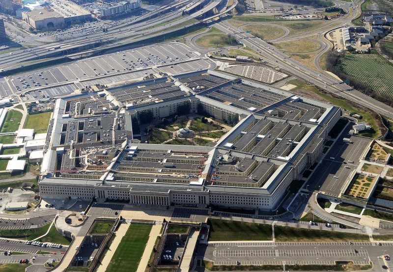 This picture taken December 26, 2011 shows the Pentagon building in Washington, DC.