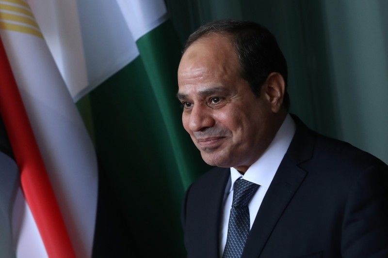 Egyptian President Abdel Fattah al-Sisi participates in a G-20 Africa conference in Berlin on June 12, 2017. (Sean Gallup/Getty Images)