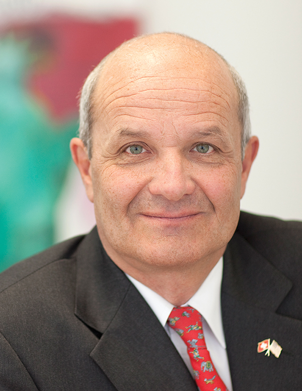 Martin Naville, CEO, Swiss-American Chamber of Commerce