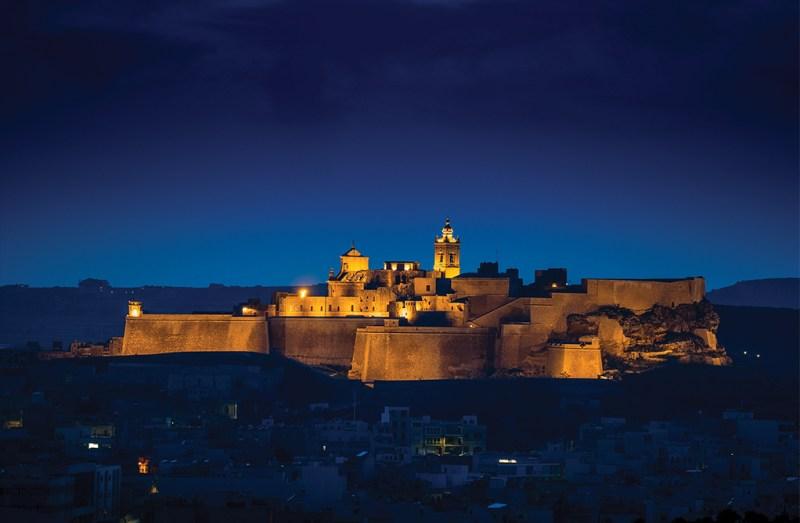Gozo's historic Cittadella has been recently restored