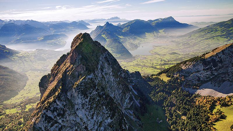 The Grosser Mythen mountain, Schwyz canton