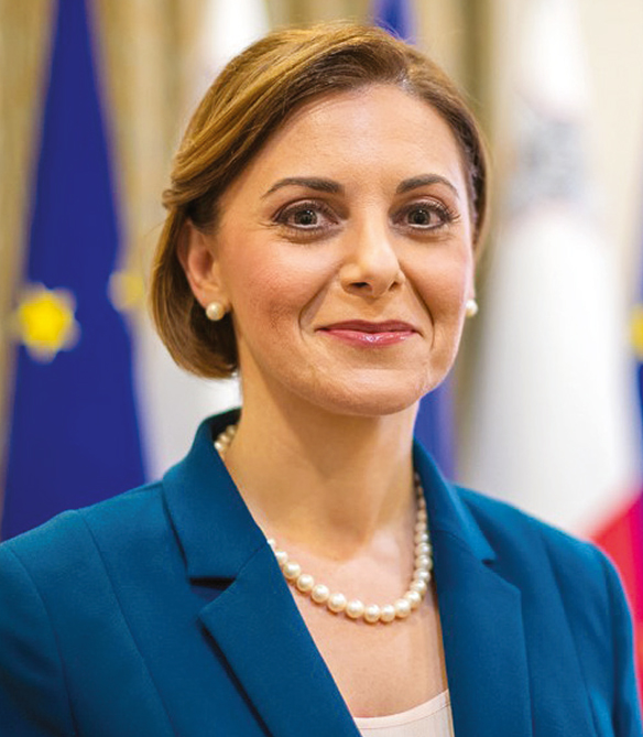 Justyne Caruana, Minister for Gozo