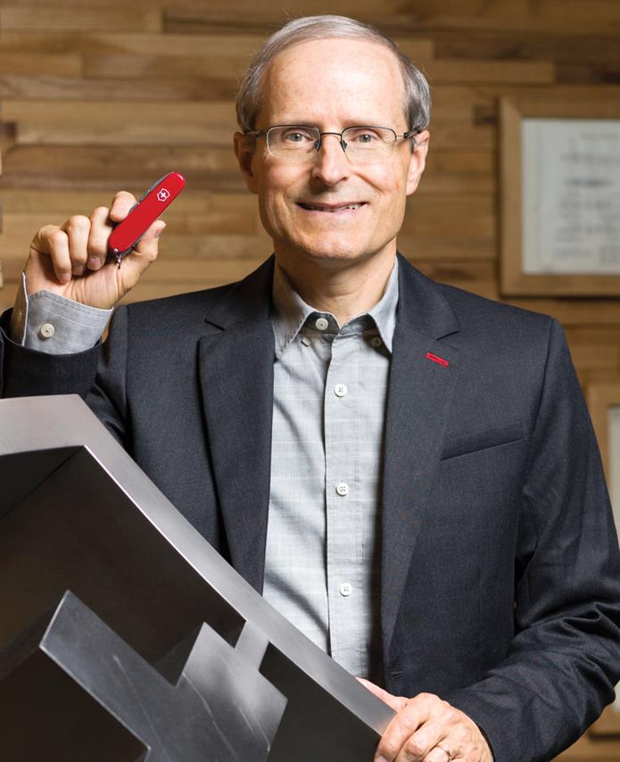 Carl Elsener Jr., CEO, Victorinox