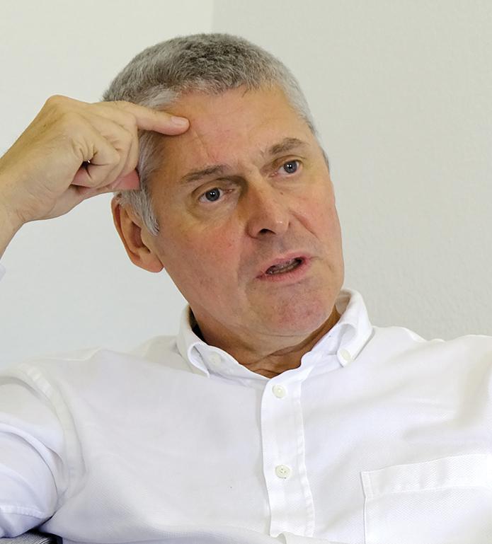 Professor Christian Leumann, Rector, University of Bern