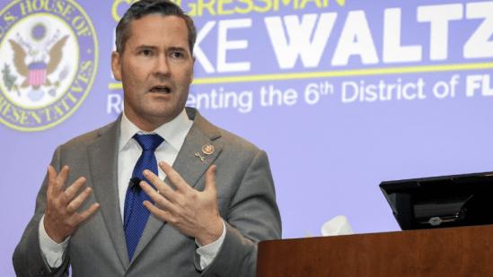 Freshman Congressman Michael Waltz, a combat-decorated Green Beret, represents Florida's 6th congressional district. (Rep. Waltz's website)