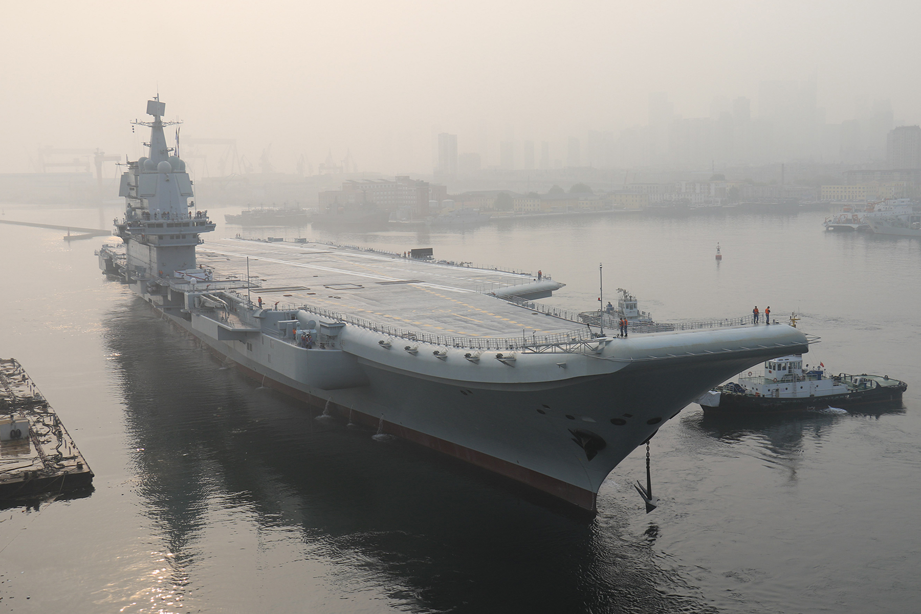 China's New Carrier Shows Beijing Is Done Playing Defense
