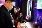 Guests look at Baidu's products at the annual Baidu World Technology Conference in Beijing on November 1, 2018.
