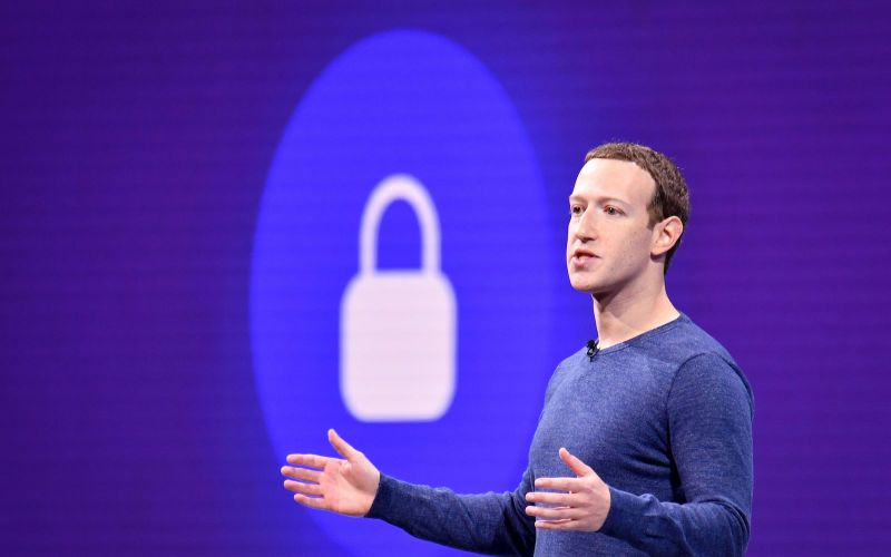 Facebook CEO Mark Zuckerberg speaks during the annual F8 summit at the San Jose McEnery Convention Center in San Jose, California.