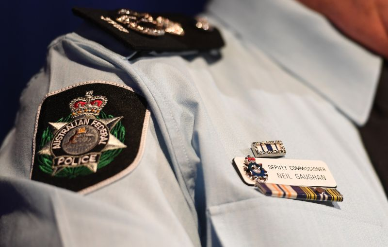Acting Australian Federal Police Commissioner Neil Gaughan speaks to the media in Canberra on June 6.