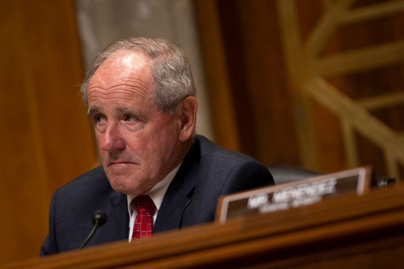 U.S. Sen. James Risch, the chairman of the Senate Foreign Relations Committee, attends a hearing on Capitol Hill on June 19.