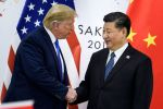 U.S. President Donald Trump shakes hands with Chinese President Xi Jinping before a bilateral meeting on the sidelines of the G-20 Summit in Osaka, Japan, on June 29.