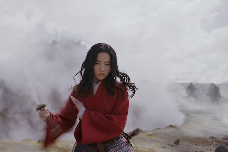 Liu Yifei  in Disney's live-action Mulan.