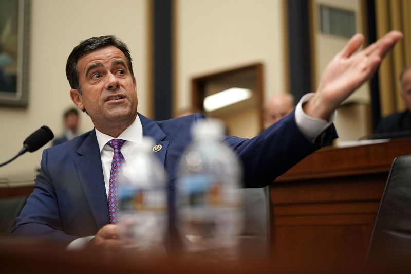 U.S. Rep. John Ratcliffe speaks during a hearing before the House Judiciary Committee in Washington on June 28, 2018.