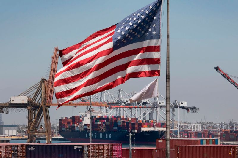U.S. President Donald Trump announced further tariffs on $300 billion worth of Chinese goods, which will make imports like these into Long Beach, California, even more expensive.
