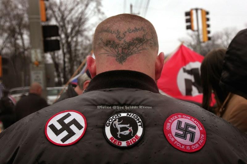 crime fascism Nazi violence politics hate racism xenophobia