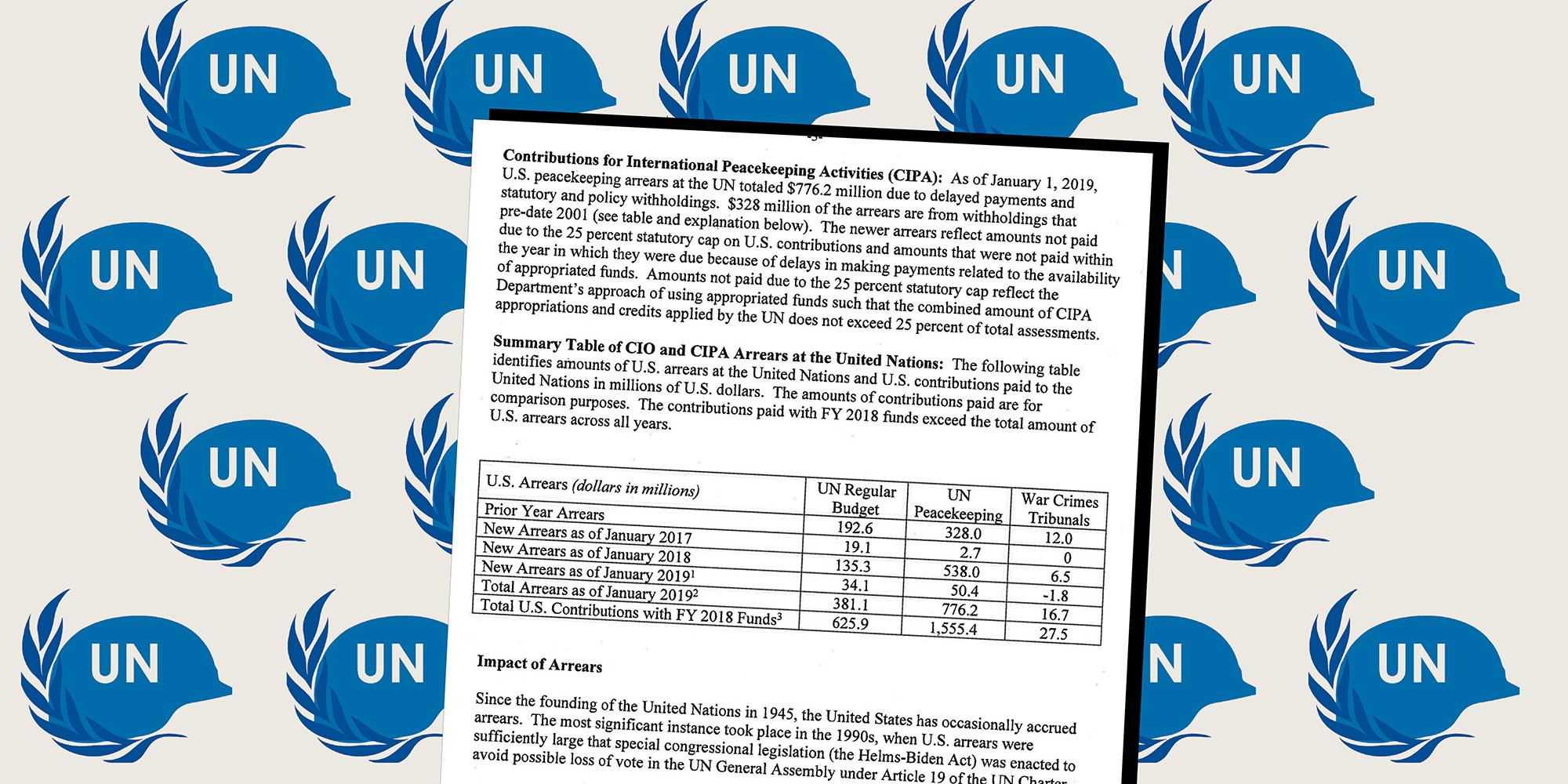 State Department Defends U.N. Peacekeeping